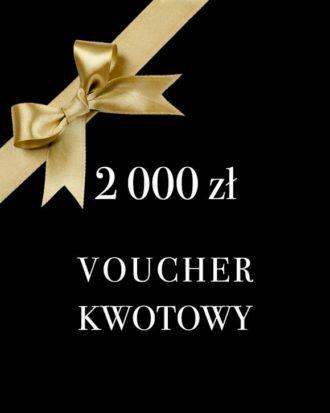 prezentowy voucher kwotowy 2000 zł Kandara SPA